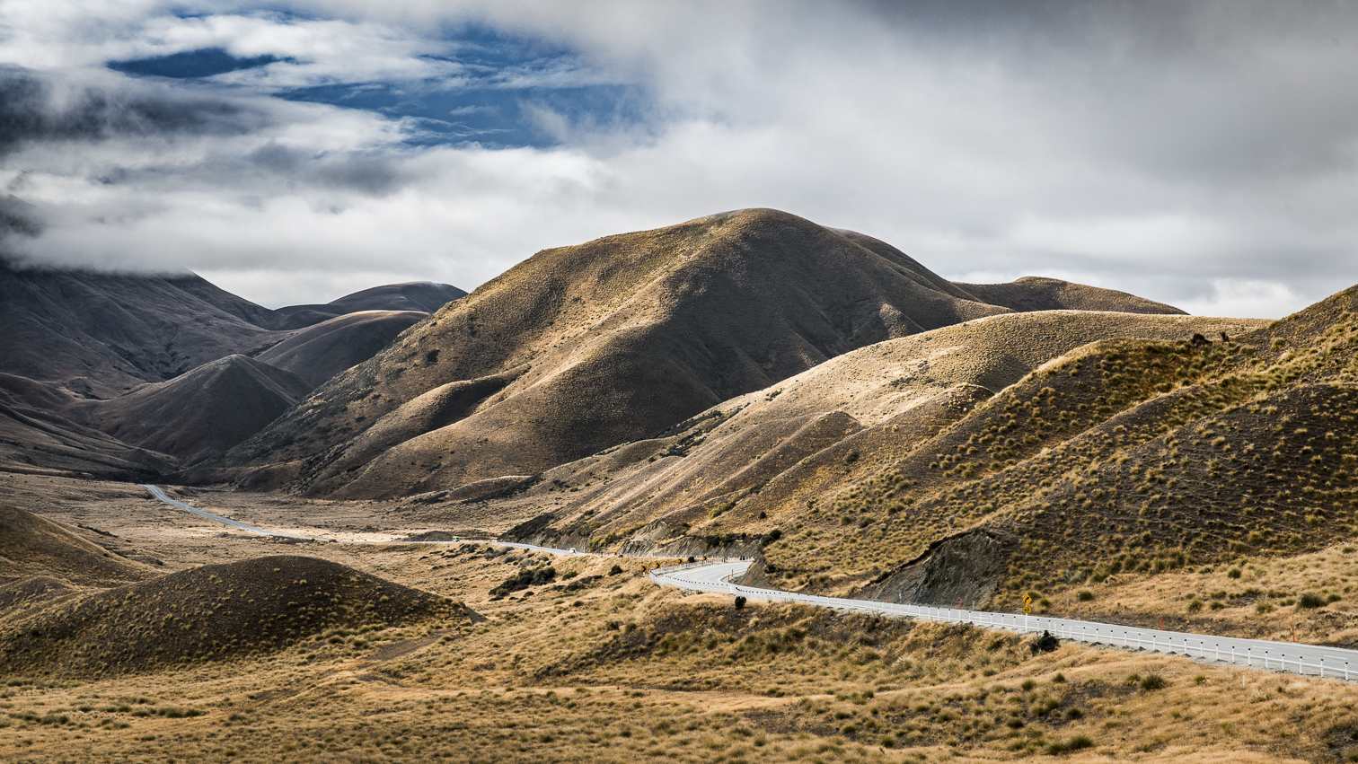 New Zealand Lindis Pass